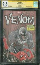 Amazing Spider Man 316 CGC 2X SS 9.6 Venom Melendez Original art Homage Sketch 8