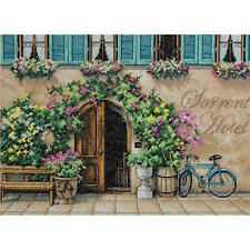 Dimensions Needlecrafts Sorrento Hotel Counted Cross Stitch Kit