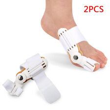2 x Big Toe Bunion Foot Care Hallux Valgus Straightener Corrector Pad UK