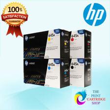 Genuine HP  C9730A C9731A C9732A C9733A Full Toner Set CMYK 5500 5550