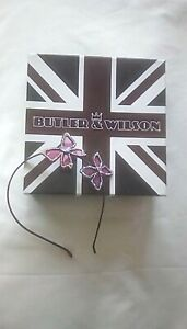 Butler and Wilson Flower Hair Band - New