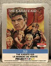 KARATE KID blu ray STEELBOOK FUTURE SHOP EXCLUSIVE PROJECT POP ART NEW RARE OOP!