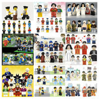 Bulk 12 City Minifigures Community City Mini Figures Building Bricks fits Lego