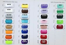SILKY SATIN FABRIC - 2.29 Per Metre - Lowest Price on Ebay 150cm Wide 30 Colours