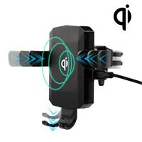 2 in 1 Wireless Charger Car for BLU Bold N1, G9,Vivo XI+,Kyocera DuraForce Pro 2