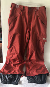 Burton Dryride Snow Pants Orange Sx L