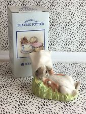 Royal Albert Beatrix Potter Benjamin Wakes Up Boxed USC