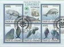 Timbres Faune marine Comores 1631/5 o année 2009 lot 19063 - cote : 16 €