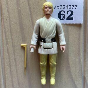 Star Wars LUKE SKYWALKER complete vintage Kenner 1977 COO HK farmboy PLEASE READ