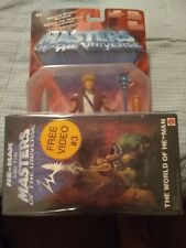 Masters of the Universe 200x/2002 Prince Adam Heroic Eternia Hero MotU He-Man