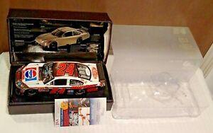 Signed Action 1/24 NASCAR Pepsi Chrome JEFF GORDON 14/25 ELITE WHITE GOLD MIB 09