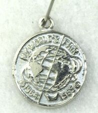 VTG NYWF NEW YORK WORLDS FAIR 1964 1965 STERLING SILVER CHARM