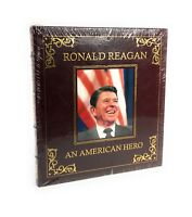 Ronald Reagan An American Hero Easton Press Leather Collector Edition New Sealed