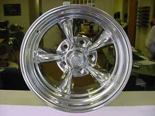 "15X10"" TORQ THRUST 2 WHEEL AMERICAN RACING  515 chevy buick WITH LUGS 5 x 4.75bp"