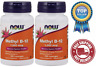 NOW Foods Methyl B-12 1000mcg, 100 Lozenges - 2 Packs