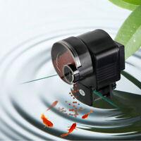 Aquarium Fish Feeder Vacation Automatic Food Dispenser Tank  Timer Auto Feeder