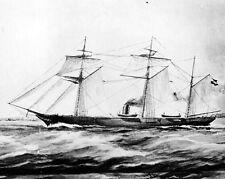 New 8x10 Civil War Photo: CSS ALABAMA, CSA Confederate Sloop-of-War Ship