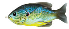 Live Target Sunfish Hollow Body SFH75T555 Blue Yellow Pumpkinseed Topwater Lure