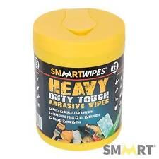 Smaart lingettes heavy duty abrasive lingettes nettoyage nettoyeur de surface chiffons - 75pk