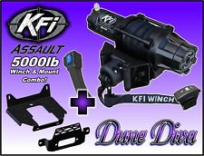 5000lb Kfi Assault Winch Mount Combo - 2005-2016 Mule 600/610(Fits: More than one vehicle)