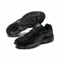 Puma AXIS Plus SD Unisex Fitnessschuhe Joggingschuhe Turnschuhe 370286 Black