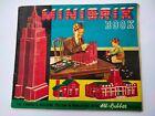 Vintage MINIBRIX Building Guide Book c1950s