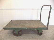 Vintage Industrial Cart, The Fairbanks Co. Platform Truck, Industrial Dolly, VGC