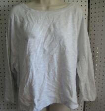 New Victoria Secret Boxy Crew Neck Crop Top Size XL