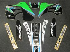 Kawasaki KX500 1988-2001 Flu Designs PTS 2 Factory Team graphics  GR1538