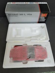 CMC 1:18 MASERATI 300S M105 1956 Red Rare and Boxed