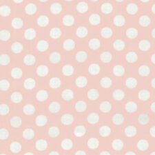 Michael Miller ta dot Polka Dots Pink 100% COTTON FQ FAT QUARTER CX1492-BLUSH