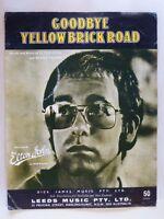 GOODBYE YELLOW BRICK ROAD - ELTON JOHN - sheet music