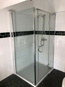 Matki Eauzone Shower Cubicle Complete with Low Profile Tray