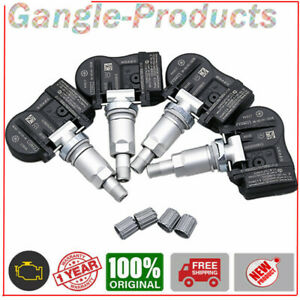 Set of 4 TIRE PRESSURE SENSOR TPMS OEM 8G92-1A159-AE for Volvo 433 MHz