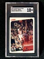 1999-00 Upper Deck Victory #391 Michael Jordan Greatest Hits SGC 10