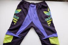 Adidas Originals Jeremy Scott sweat bottoms joggers purple black L well worn