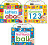 Wipe Clean Learn to Write Letters,Numbers, First Words (Board Book)FREE ship $35