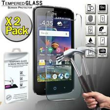 2 Pack Tempered Glass Screen Protector Cover For ZTE Majesty Pro