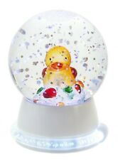 Ganz Lighted Led Yellow Duck Waterball With Neon Base Mini Shimmer