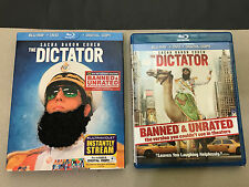 The Dictator (Blu-ray+DVD, 2012) + VERY RARE OUT OF PRINT SLIPCOVER-MINT DISCS