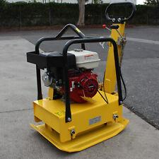Reversible Plate Compactor Rammer Dirt Soil Asphalt Tamper With9hp Honda Gx Engine