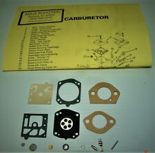 Aquascooter Carb Kit W/Must Have F/R Gaskets For As-600/650/Sm, Free Shipping