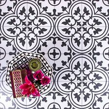 TILE DEALS / SAMPLES Parisa White Vintage Moroccan Victorian Wall & Floor Tiles