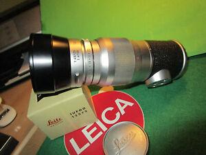 Leitz Leica Elmar 4 / 135 mm mit Gegenlichtbl. für M2