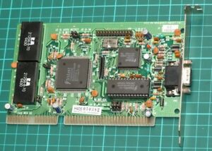 Trident TVGA9000C 512K 16-bit ISA VGA SVGA card for 286 386 486 vintage PC