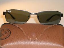 b29e984bc6efee Ray-Ban RB3272 Lisa Metalizado   Negro G15 Cristal Rectangular Gafas de Sol  con