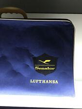 """Lufthansa Senator Koffer RETRO 1950er + Buch """"Für Sie gekocht"""" Edmund Dittler"""
