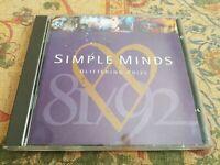 CD Music Album SIMPLE MINDS GLITTERING PRIZE