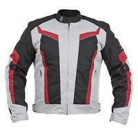 Textil Motorrad Jacke Bikerjacke Custombike Chopper Rocker Motorradjacke Schutz