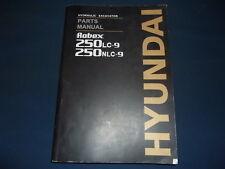 HYUNDAI 250LC-9 250NLC-9 EXCAVATOR PARTS BOOK MANUAL